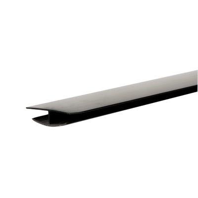 Primacell uPVC Hollow Soffit H Trim 5000mm Black