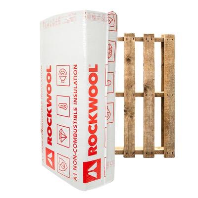 100mm Rockwool RWA45 1200mm x 600mm Pallet of 20 (57.6m²)