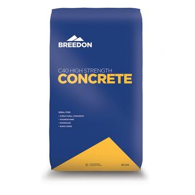 Breedon C40 High Strength Concrete 20Kg
