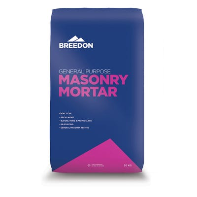 Breedon General Purpose Masonry Mortar 20Kg