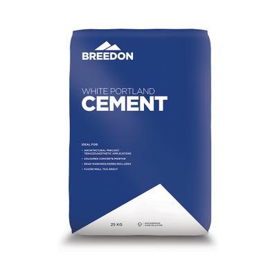 Breedon White Portland Cement 25Kg
