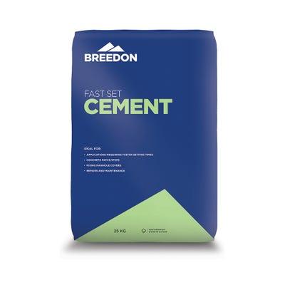 Breedon Fast Set Cement 25Kg