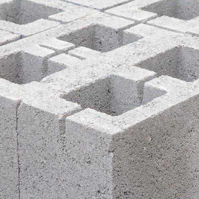 215mm Aero Block Hollow Concrete Block 7.3N 215mm x 440mm