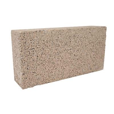 100mm Aero Block Medium Dense Concrete Block 7.3N 215mm x 440mm
