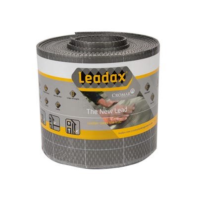 150mm Leadax Grey Lead Replacement Flashing 6m