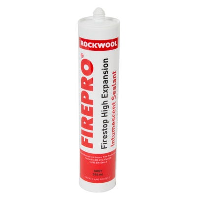 Rockwool High Expansion Intumescent Sealant 310ml