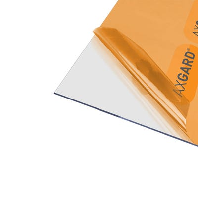 2mm Axgard Clear UV Protect Polycarbonate 1000mm x 2000mm