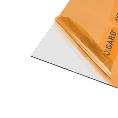 2mm Axgard Clear UV Protect Polycarbonate 1250mm x 1240mm