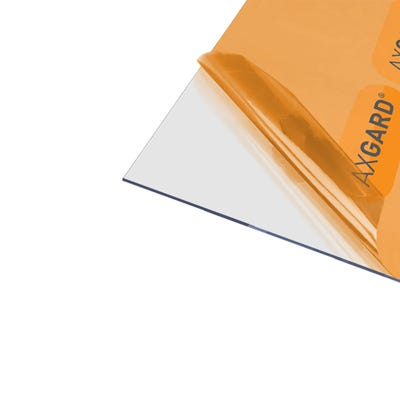 2mm Axgard Clear UV Protect Polycarbonate 1250mm x 2050mm