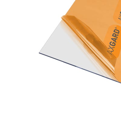 2mm Axgard Clear UV Protect Polycarbonate 620mm x 2050mm