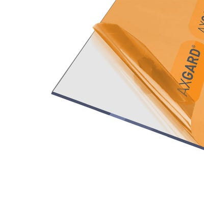 4mm Axgard Clear UV Protect Polycarbonate 2050mm x 1500mm