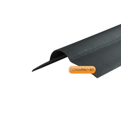 1000mm Black Corrapol Bitumen Corrugated Ridge