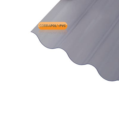 950mm x 2500mm Corrapol Corrugated PVC Sheet