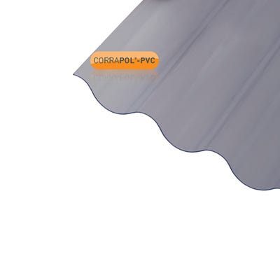 950mm x 3000mm Corrapol Corrugated PVC Sheet
