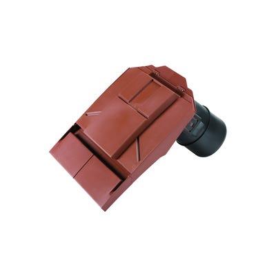 Ubbink Ventilation Tile Inline UB37 Plain Tile Red