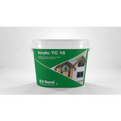 K Rend Acrylic TC15 Pure White 25Kg