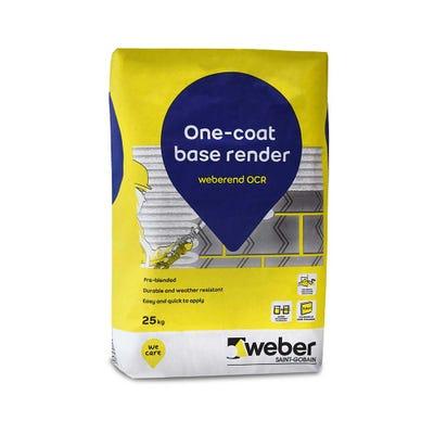 Weber Weberend OCR One Coat Render 25Kg