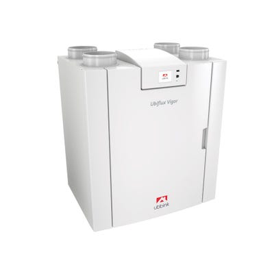 Ubbink Ubiflux Vigor W225 4/0 Right MVHR Heat Recovery Unit