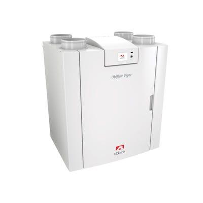 Ubbink Ubiflux Vigor W225 4/0 Left MVHR Heat Recovery Unit