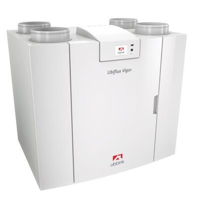 Ubbink Ubiflux Vigor W400 4/0 Left MVHR Heat Recovery Unit