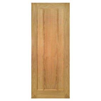 Deanta Internal Oak Norwich 3 Panel Door