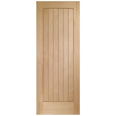 XL Joinery External Oak Suffolk 6 Panel Door