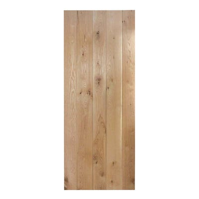 LPD Internal Nostalgia Rustic Solid Oak Framed & Ledged Door