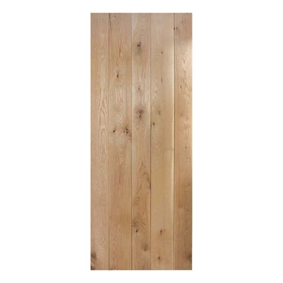 LPD Internal Nostalgia Rustic Solid Oak Framed & Ledged Door