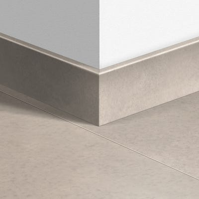 Quick Step Polished Concrete Natural Parquet Skirting 14 x 77 x 2400mm Design QS1246