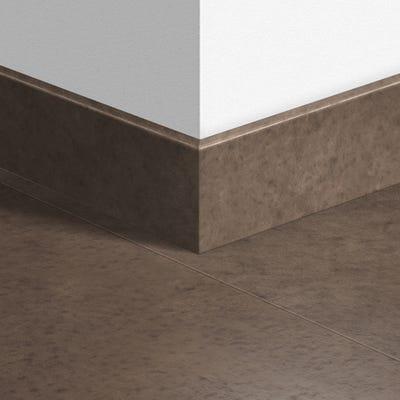 Quick Step Polished Concrete Dark Parquet Skirting 14 x 77 x 2400mm Design QS1247