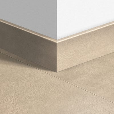 Quick Step Leather Tile Light Parquet Skirting 14 x 77 x 2400mm Design QS1401