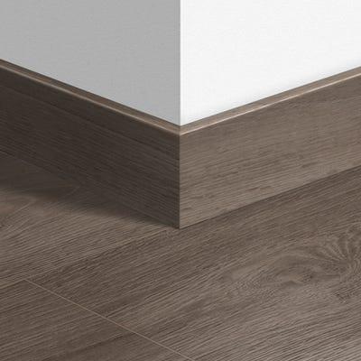 Quick Step Grey Vintage Oak Parquet Skirting 14 x 77 x 2400mm Design QS1286