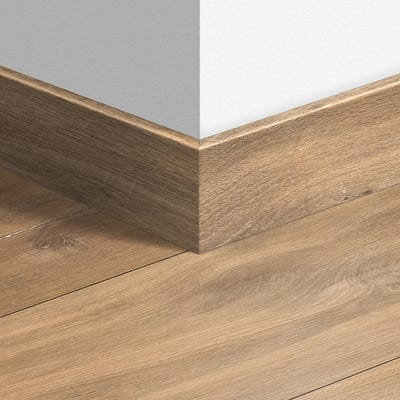Quick Step Midnight Oak Natural Parquet Skirting 14 x 77 x 2400mm Design QS1487