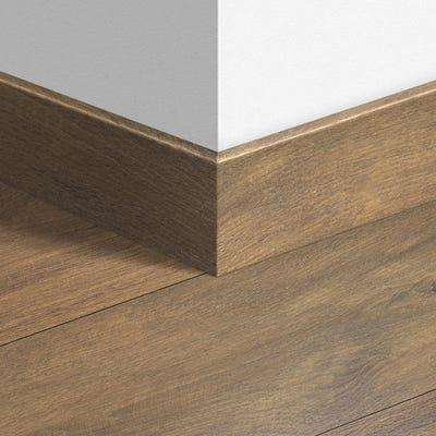Quick Step Midnight Oak Brown Parquet Skirting 14 x 77 x 2400mm Design QS1488