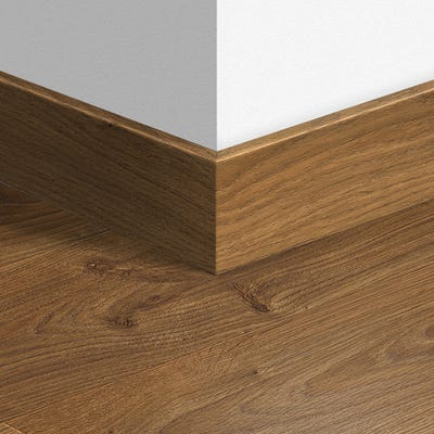 Quick Step White Oak Medium Parquet Skirting 14 x 77 x 2400mm Design QS1492
