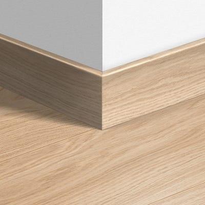 Quick Step Oak White Oiled Parquet Skirting 14 x 77 x 2400mm Design QS1538