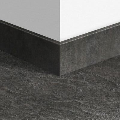Quick Step Slate Black Parquet Skirting 14 x 77 x 2400mm Design QS1550