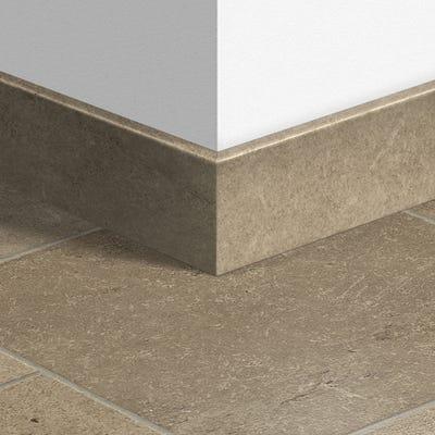 Quick Step Ceramic Dark Parquet Skirting 14 x 77 x 2400mm Design QS1555
