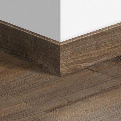 Quick Step Cambridge Oak Dark Parquet Skirting 14 x 77 x 2400mm Design QS1664