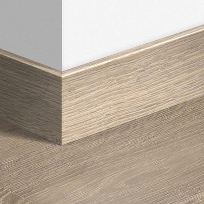 Quick Step White Vintage Oak Parquet Skirting 14 x 100 x 2400mm Design QS1285