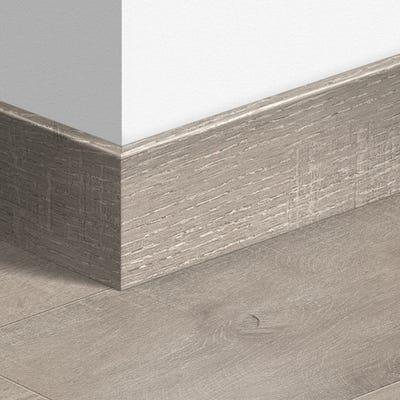 Quick Step Dominicano Oak Grey Parquet Skirting 14 x 100 x 2400mm Design QS1663