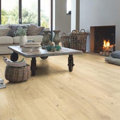Quick Step Impressive IM1853 Sandblasted Oak Natural Laminate Flooring