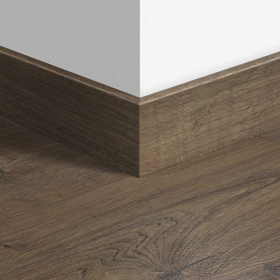 Quick Step Classic Oak Brown Parquet Skirting 14 x 77 x 2400mm Design QS1849