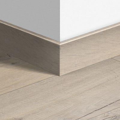 Quick Step Soft Oak Beige Parquet Skirting 14 x 77 x 2400mm Design QS1854