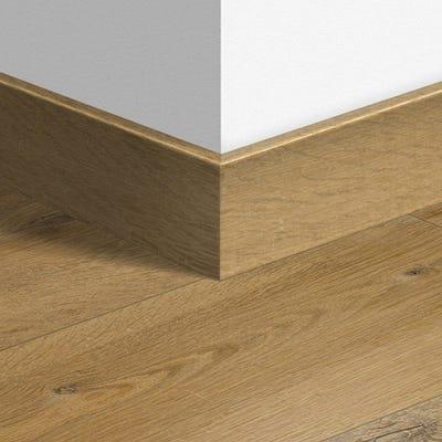 Quick Step Soft Oak Natural Parquet Skirting 14 x 77 x 2400mm Design QS1855