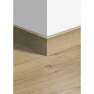 Quick Step Soft Oak Medium Parquet Skirting 14 x 77 x 2400mm Design QS1856