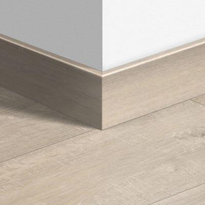 Quick Step Saw Cut Oak Beige Parquet Skirting 14 x 77 x 2400mm Design QS1857