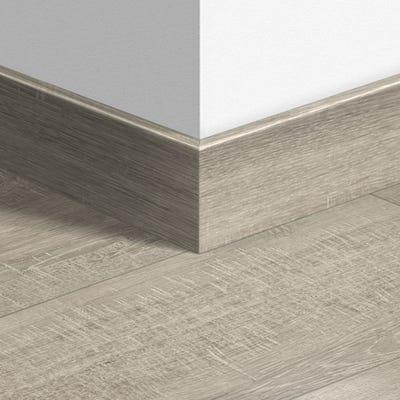 Quick Step Saw Cut Oak Grey Parquet Skirting 14 x 77 x 2400mm Design QS1858