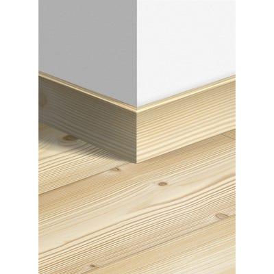 Quick Step Natural Pine Parquet Skirting 14 x 77 x 2400mm Design QS1860