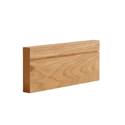 Deanta Internal Oak Veneer Architrave Shaker Style Prefinished Door Set